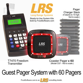 LRS Guest Pager System
