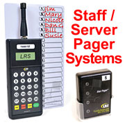 Click the image for a detailed description of the Restaurant Server Pager System